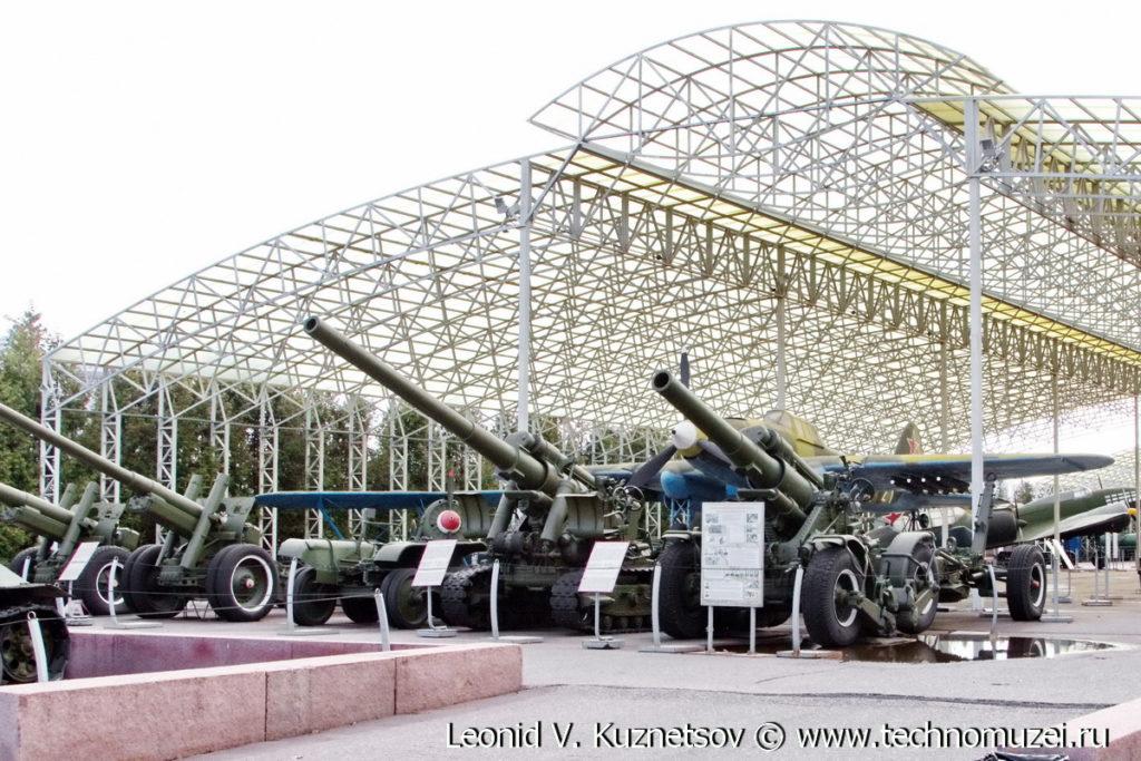 Артиллерия в Музее на Поклонной горе
