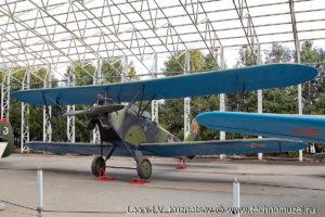 Биплан По-2 в Музее на Поклонной горе