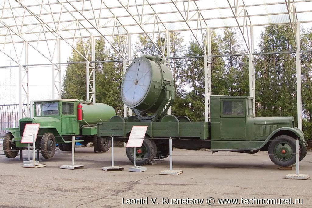 Зенитный прожектор ЗиС-5 в Музее на Поклонной горе