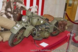 Harley-Davidson WLA 42 в Музее на Поклонной горе