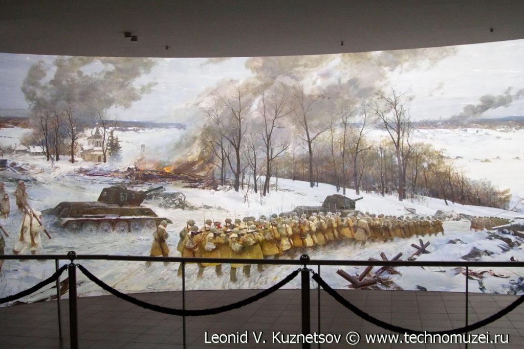 """Диорама """"Битва за Москву"""" в Музее на Поклонной горе"""