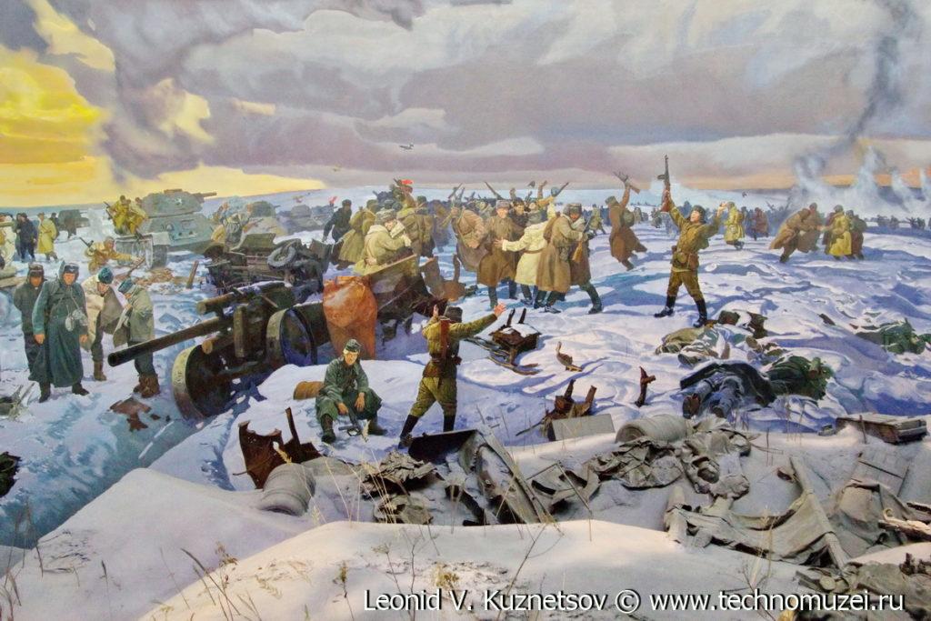 """Диорама """"Сталинградская битва"""" в Музее на Поклонной горе"""