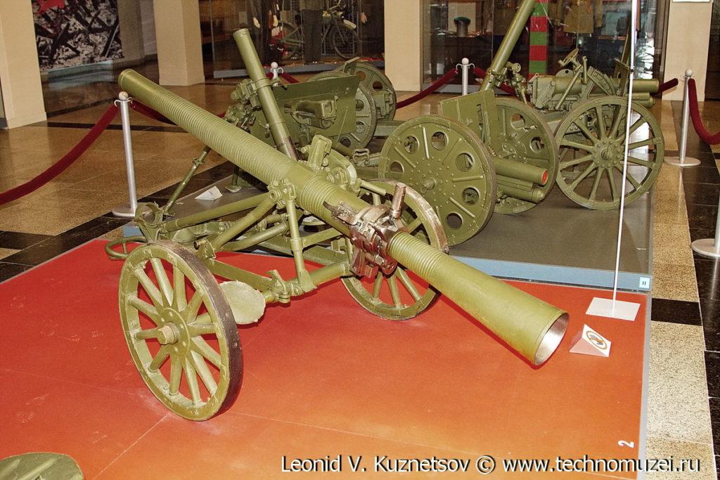 Динамореактивная пушка БПК-76 в Музее на Поклонной горе
