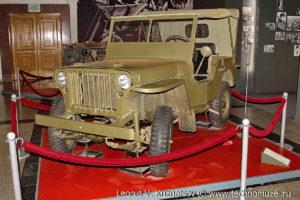Willys MB в Музее на Поклонной горе