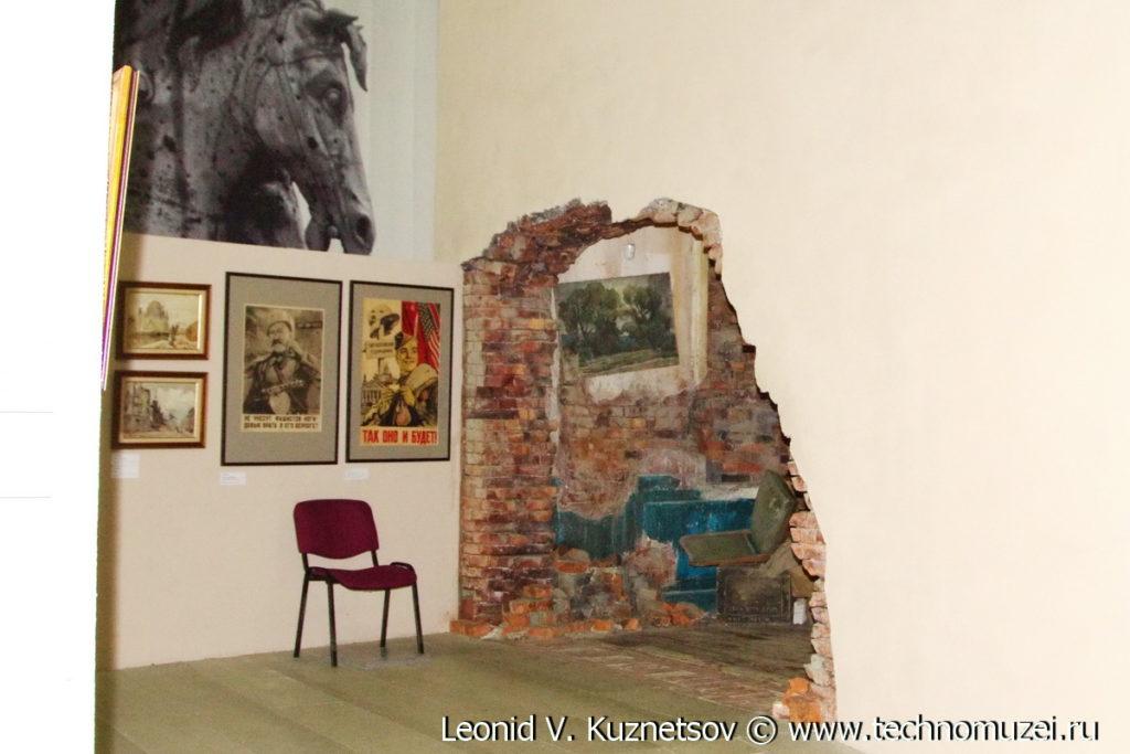 "Панорама ""Подвиг знаменосцев"" в Музее на Поклонной горе"