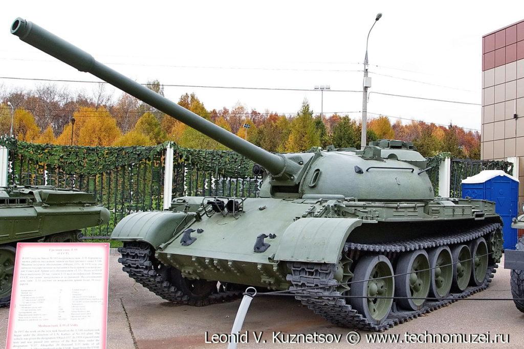 Танк Т-55 в Музее на Поклонной горе