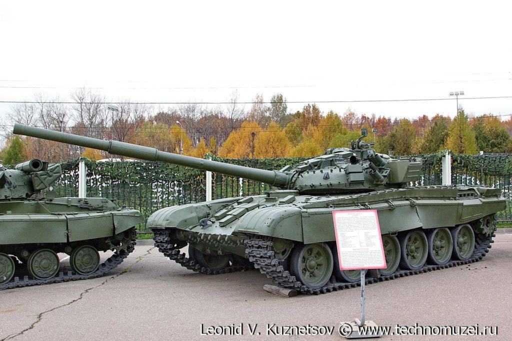 Танк Т-72 в Музее на Поклонной горе