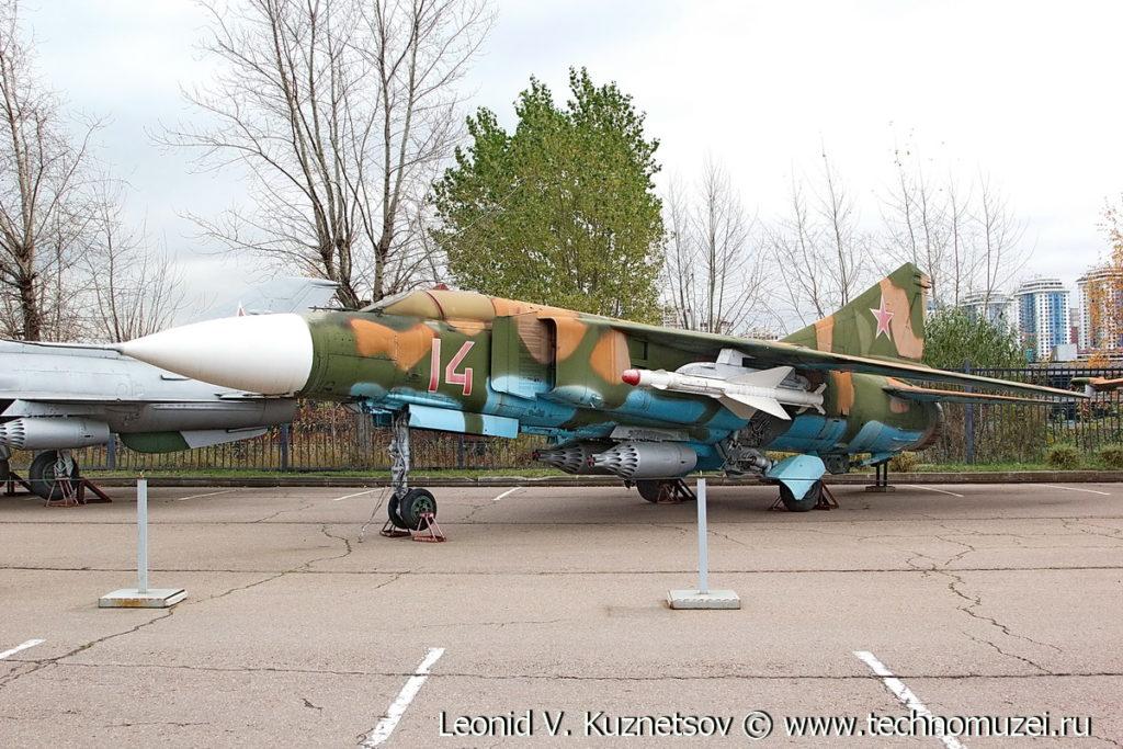 Истребитель МиГ-23МЛ в Музее на Поклонной горе