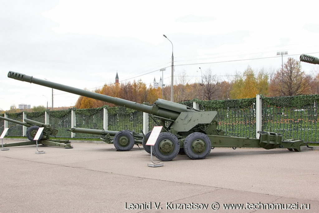 Пушка 2А36 Гиацинт-Б в Музее на Поклонной горе