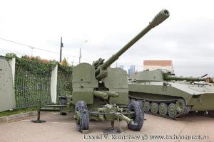 Зенитная пушка КС-19 в Музее на Поклонной горе