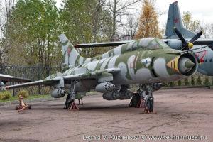 Истребитель-бомбардировщик Су-17М3 Су-22УМЗК в Музее на Поклонной горе