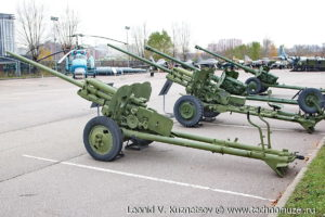 Пушка ЗиС-2 в Музее на Поклонной горе
