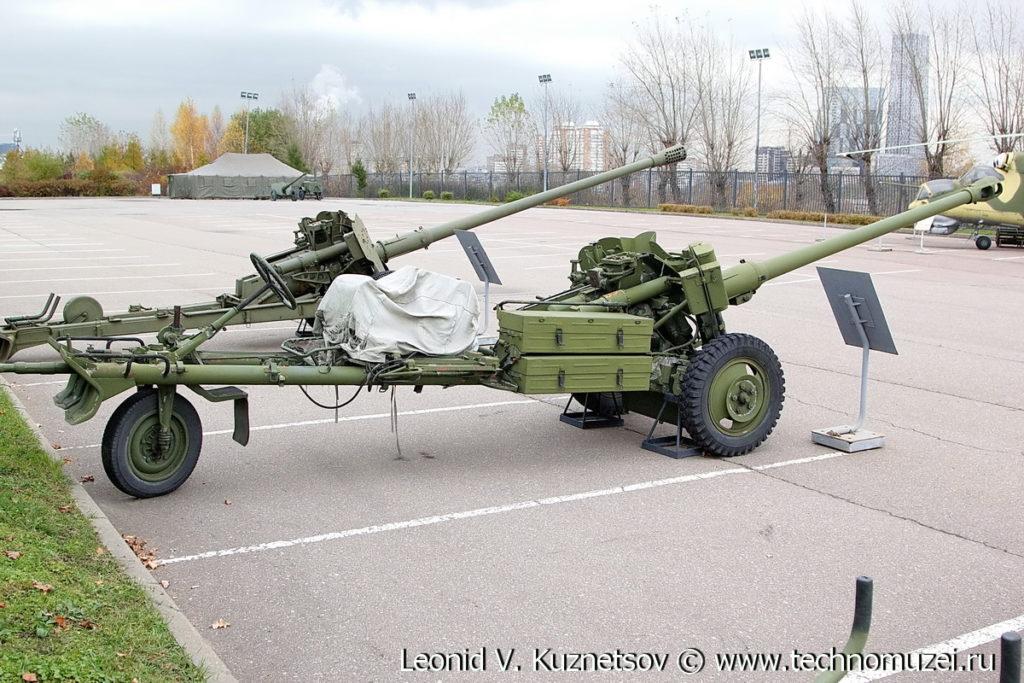 Самодвижущаяся пушка СД-44 в Музее на Поклонной горе