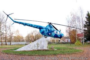 Вертолёт памятник Ми-1 в Ярославле