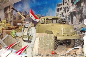 "Зенитная установка ЗУ-2-23 на грузовике ЗиЛ-131 на выставке ""Операция в Сирии"" в парке Патриот"