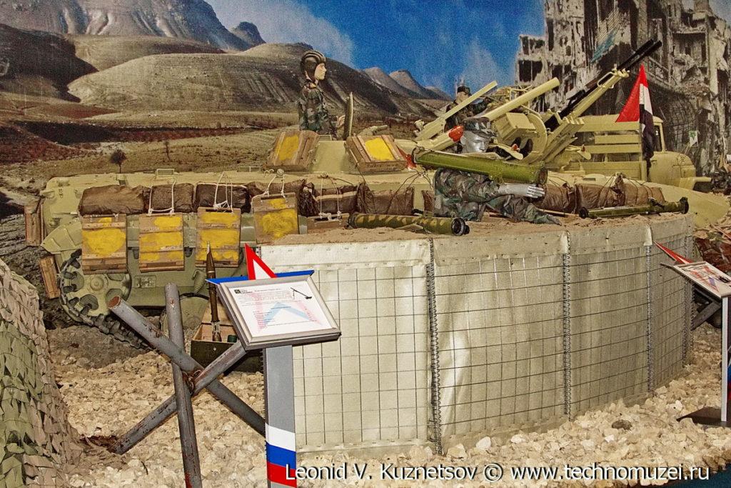 """БМП-1 сирийской армии на выставке """"Операция в Сирии"""" в парке Патриот"""