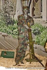 "82-мм миномет 2Б14-1 Поднос на выставке ""Операция в Сирии"" в парке Патриот"