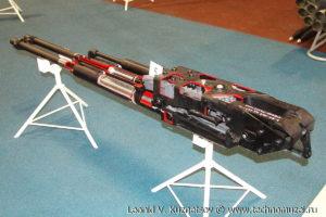 """Авиационная пушка ГШ-30-2 на выставке """"Операция в Сирии"""" в парке Патриот"""