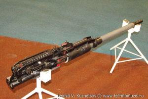"""Авиационная пушка ГШ-301 на выставке """"Операция в Сирии"""" в парке Патриот"""