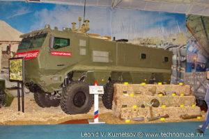 """Бронированный автомобиль КАМАЗ-63968 на выставке """"Операция в Сирии"""" в парке Патриот"""