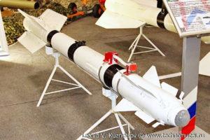 """Авиационная управляемая ракета Р-73 на выставке """"Операция в Сирии"""" в парке Патриот"""