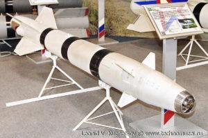 """Авиационная управляемая ракета Х-25МЛ на выставке """"Операция в Сирии"""" в парке Патриот"""