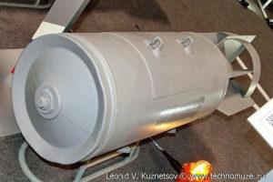 """Разовая бомбовая кассета РБК-500-ШОАБ-0,5 на выставке """"Операция в Сирии"""" в парке Патриот"""