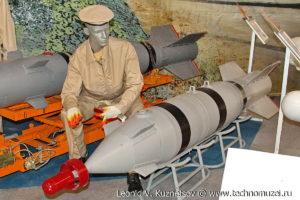 """Корректируемая фугасная бомба КАБ-500Л на выставке """"Операция в Сирии"""" в парке Патриот"""