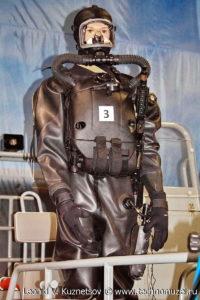"""Снаряжение """"Амфора"""" для специальных водолазных подразделений на выставке """"Операция в Сирии"""" в парке Патриот"""