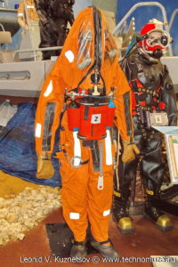 """Спасательный костюм ССП-М на выставке """"Операция в Сирии"""" в парке Патриот"""