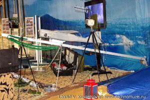"""Комплекс БПЛА """"Орлан-10"""" на выставке """"Операция в Сирии"""" в парке Патриот"""