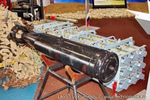 """Противолодочная авиационная бомба ПЛАБ-250120 на выставке """"Операция в Сирии"""" в парке Патриот"""