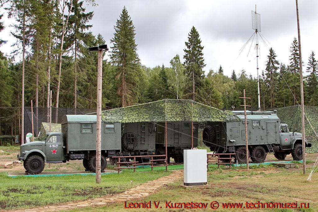 Городок военных связистов в парке Патриот