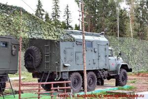 Радиостанция КВ-УКВ Р-161А2М Экватор-3М в парке Патриот