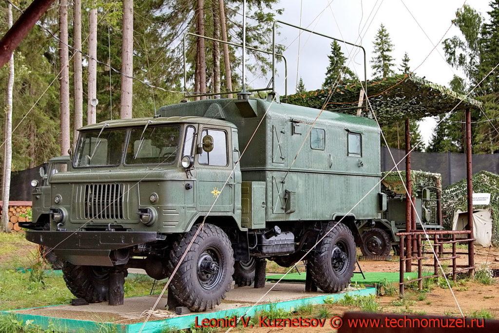 Радиостанция Р-118М3 Соболь-Б в парке Патриот