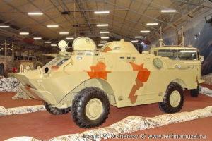 Бронированная разведывательно-дозорная машина БРДМ-2 в парке Патриот