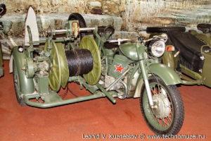 Мотоцикл связи П-285 в парке Патриот