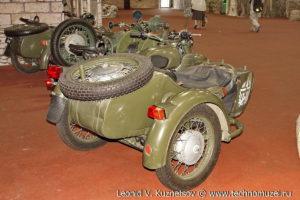 Мотоцикл Днепр МТ-650 в парке Патриот