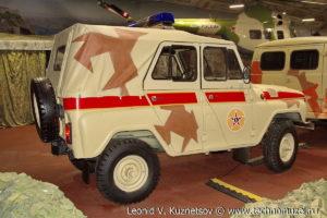 УАЗ-3151 с пулеметной турелью в парке Патриот