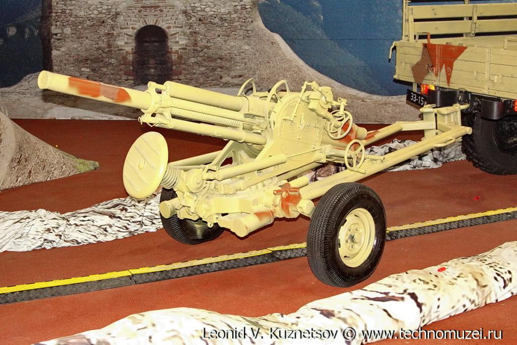 82-мм автоматический миномет 2Б9М Василек в парке Патриот