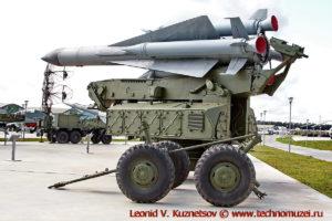 Зенитный комплекс С-200В Вегас ракетой 5В28 в парке Патриот