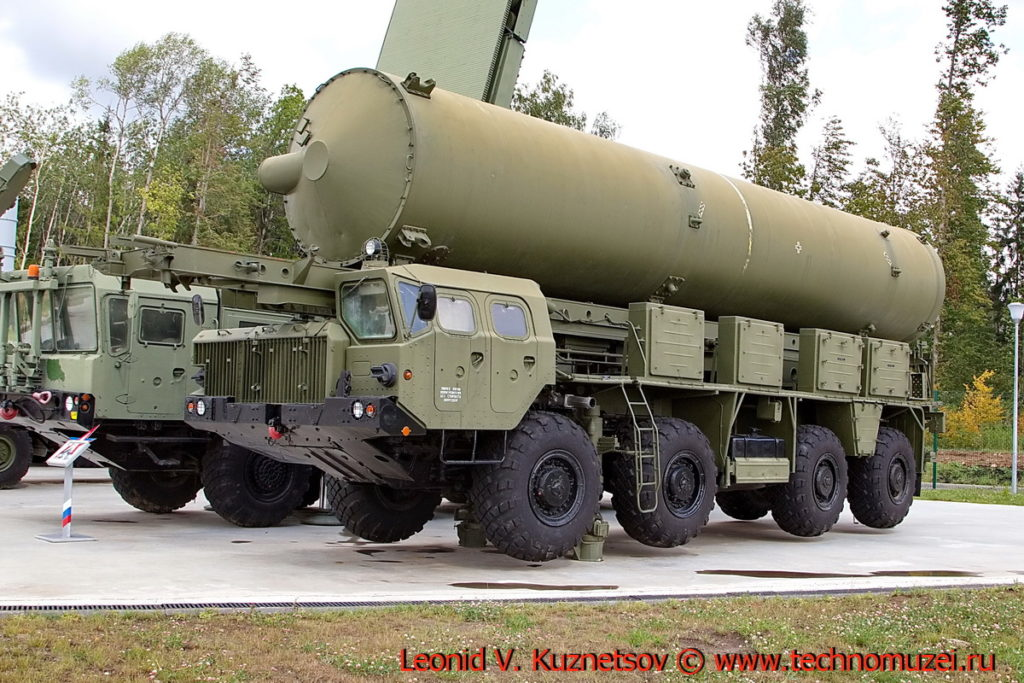 Агрегат 5Т92 комплекса 5Ж60 А-135 Амур в парке Патриот
