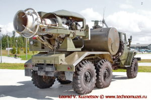 Тепловая машина ТМС-65 в парке Патриот