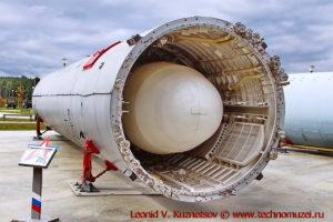 Межконтинентальная баллистическая ракета 15А20 в парке Патриот