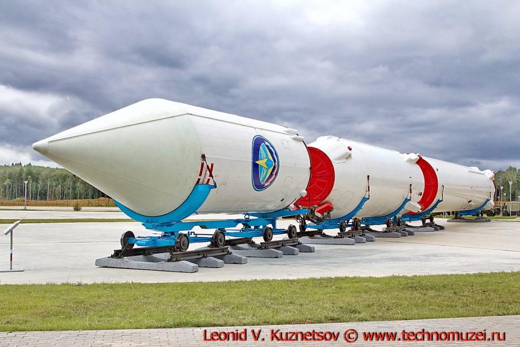 Ракета-носитель Циклон-3 11К68 в парке Патриот