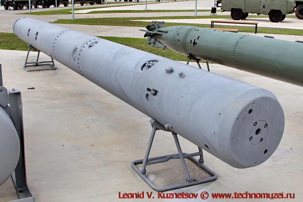 Противолодочная мина-ракета ПМР-2 Голец в парке Патриот
