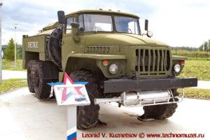 Автоцистерна АЦГ-5-4320 в парке Патриот