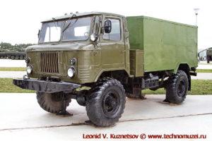 Хлебный фургон АФХ-66 в парке Патриот