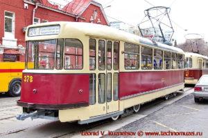 Трамвай Tatra T2 на параде трамваев в Москве
