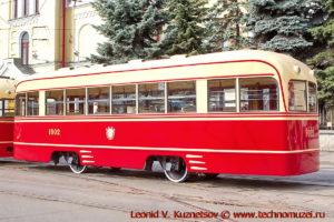 Трамвай КТП-1 на параде трамваев в Москве